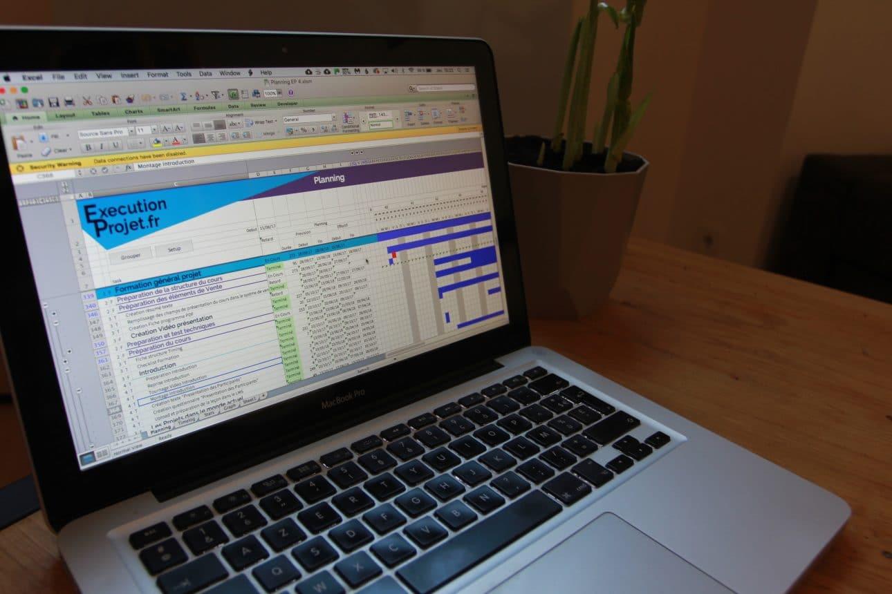 Comment faire un planning excel tutoriel executionprojet comment faire un planning excel avec un diagramme de gantt ccuart Images